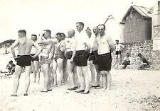 WWII German RP- Army Soldier- Semi Nude- Gay Interest- Beach House- Swim