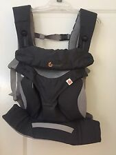 Four Position Cool Air Breathable Infant ergonomic Ergo 360 Baby Carrier Grey