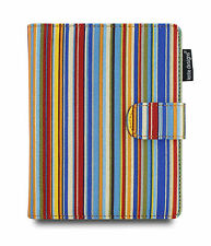 Lente Designs® Amazon Kindle Voyage folio cover / case in 'Siena Stripes' design