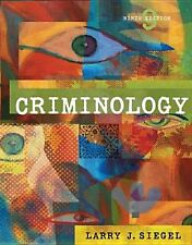 Criminology with CD-ROM and InfoTrac Available Titles CengageNOW - Siegel, Larry