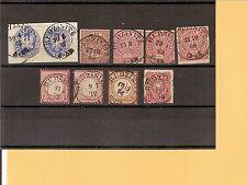 Pr Vor / RUDZINITZ 2 K2 auf Briefstück Pr. 17a, NDP 1, 4, 16, Briefstück 16