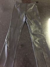 Guess Leather Pants - Size 4 - Black (Lot A)