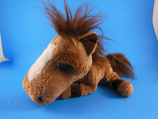 "Russ Berrie Plush JUMBALAYA  HORSE PONY with Large Big Eyes Vintage 8' X9"" +tail"