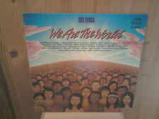 "USA FOR AFRICA we are the world 12"" MAXI 45T"