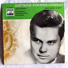 """7"""" Vinyl DIETRICH FISCHER-DIESKAU singt Schubert - Frühlingsglaube u.a."""
