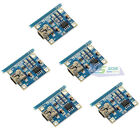 5×Micro 5V Mini USB 1A Lithium Battery Charging Board Battery Charger Module New