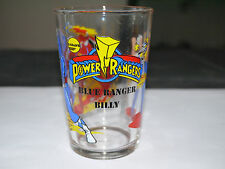 VERRE A MOUTARDE AMORA CINEMA TV POWER RANGERS BLUE RANGER BILLY 1994
