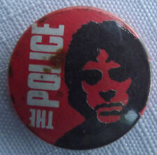 "THE POLICE Stewart Copeland Vintage 70`s/80`s Button Pin Badge (25mm-1"") #TP106"