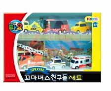 TAYO the Little Bus Friends 6 Cars A Set Toy for Children's toys Birthday Gift