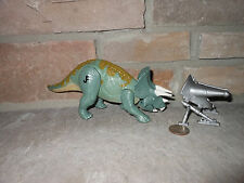Jurassic Park 1999 Walmart Exclusive Blue Triceratops Trike Complete!