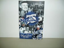 TORONTO MAPLE LEAFS OFFICIAL GUIDE BOOK 75TH ANNIVERSARY 2001-2002