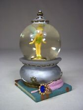 Walt Disney Tinkerbell Peter Pan Pixie Hollow Neverland Fairy Mini Snow Globe