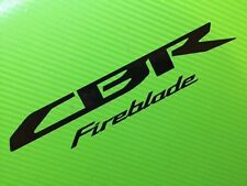 CBR Fireblade for Honda 929 954 1000bike fairing, toolbox, luggage PAIR ref #152