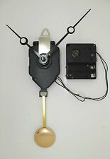 mouvement horloge quartz à balancier + aiguilles trou + sonnerie + balancier