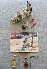 LEGO Prince of Persia - Rare - Brickmaster 20017 + Extra Minifigs - Excellent