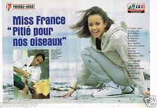 Coupure de Presse Clipping 2000 (4 pages) Sonia Rolland Miss France