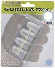 Gorilla Tips Guitar Tools - for Sore Fingers, Made of Silicone Rubber & Washable