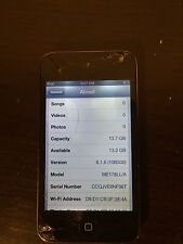 Used Working Apple iPod touch 4th Generation Black (16 GB) ****FREE SHIPPING****