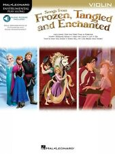 Songs from Frozen Tangled and Enchanted Violin Instrumental Folio Book 000126928
