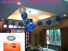 Helium or Air Balloons Clips Holder 5 Meter Ceiling Balloons decoration