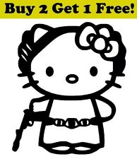 Hello Kitty Princess Leia Decal Sticker Car Bumper Window Wall Star Wars Jedi