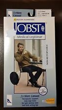 Jobst for Men Casual 15-20 mmHg Closed Toe Knee High Compression Socks