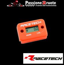 contaore elettronico non azzerabile racetech cross atv quad arancio hourmeter