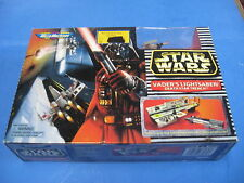 STAR WARS MICRO MACHINES VADERS LIGHTSABER/ DEATH STAR TRENCH STILL SEALED