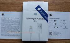 2M Apple Sync & Caricabatterie USB Cavo dati per IPHONE 6 5 5C 5S IPAD 4 AIR MINI