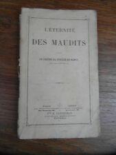 L'ETERNITE DES MAUDITS Casterman 1874 par un PRETRE DU DIOCESE DE NANCY (2)