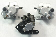 Front&Rear Brake Caliper Set For 1989-2004 YAMAHA WARRIOR 350 YFM 350X with pads