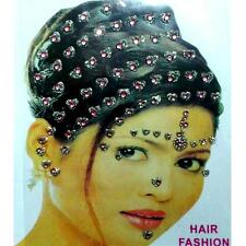 Haarschmuck Haar Sticker Body Body Hair Braut Bridal Makeover Wedding Acessories