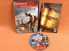 God of War Playstation 2 PS2 Fast FREE SHIPPING Complete!