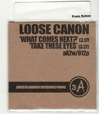 (FV68) Loose Canon, What Comes Next? - 2004 DJ CD