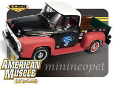 AUTOWORLD AMM950 1956 56 FORD F-100 PICK UP TRUCK 1/18 LIMITED EDITION RAT ROD
