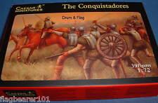 CAESAR SET #25 - THE CONQUISTADORES. 1/72 SCALE PLASTIC