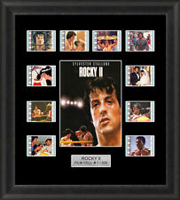 ROCKY 2 MOUNTED FRAMED 35MM FILM CELL MEMORABILIA SYLVESTER STALLONE FILM CELLS