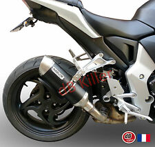 SILENCIEUX ARROW ALU DARK  HONDA CB 1000 R 2008/16 - 71732AON