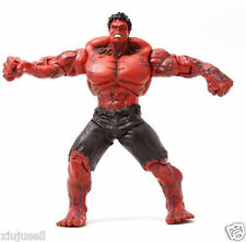 """Marvel Legends The Avengers Hreoes The INCREDIBLE Red Hulk 10"""" PVC Action Figure"""