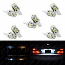 10 x T10 Xenon White 20 SMD LED 168 194 2825 W5W For Dodge License Plate Lights
