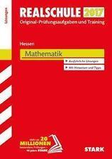 Abschlussprüfung Realschule Hessen 2017 Mathematik Lösungsheft 2016, Taschenbuch