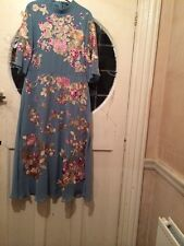 Bnwt Asos Duck Egg Green Emboidered. MIDI  Dress  for special occasions size 10