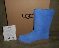 UGG WOMEN'S AMIE SKYLINE SUEDE BOOTS WATERPROOF SIZE 8 NEW IN BOX