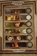 Xena - VERY RARE  Limited Edition DVD Commemorative Coin Series