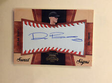 DYLAN BUNDY 2011 Panini Contenders Sweet Signs AUTO Autograph Patch Card 62/99