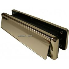DELUXE GOLD HEAVY DUTY 12 INCH LETTERBOX