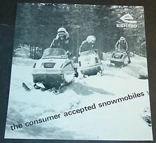 VINTAGE 1971 ESKIMO SNOWMOBILE SALES BROCHURE 4 PAGES  (848)