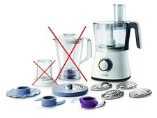 Philips HR7761/01 Küchenmaschine 3in1 Viva Food Processor ohne Mixeraufsatz NH65