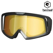 Shark Raw Helmet Replacement Anti-Fog Goggle Lense - Orange Mirror