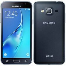 Open Box Samsung Galxy J3 2016 J320H/DS Factory Unlocked HSPA+ Smartphone-Black